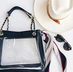 "POLICY Handbags ® on Instagram: ""🍁𝓕𝓪𝓵𝓵 𝓔𝓼𝓼𝓮𝓷𝓽𝓲𝓪𝓵𝓼🍁 ╚»📸: @shophighlandpark «╝ . . . . . #policyhandbags #likeaboss #stadiumapproved #shopping #stadiumbags #clearbag #igstyle…"" Clear Handbags, Clear Bags, Like A Boss, Essentials, Fall, Shopping, Instagram, Fashion, Autumn"