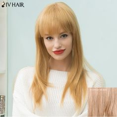 GET $50 NOW | Join RoseGal: Get YOUR $50 NOW!http://www.rosegal.com/human-hair-wigs/siv-hair-long-natural-straight-1011030.html?seid=2275071rg1011030
