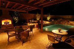 Outdoor rooms are a major part of our three season New Mexico lifestyle. We help you affordably create great rooms that expand the functional size of your home. Outdoor rooms often include kitchens, fireplaces, water elements and even swimming pools.