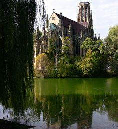 St John Church, Stuttgart, Germany