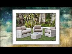 Teak Outdoor Living Sets | by www.mix-a-container.com