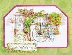 Birthday Wishes Flower Soft Card