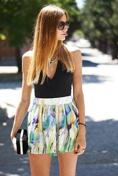 My Flowered Skirt ( Sunglasses & Tanks )