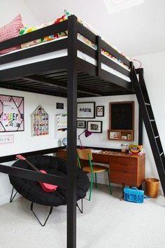 Bunk bed, loft bed, literas