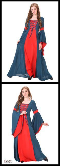 Cosplaydiy Women's Civil War Dress for party/Halloween Medieval/renaissance dresses