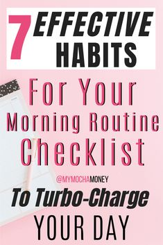 Morning Routine Checklist: 7 Effective Morning Habits to Turbo-Charge Your Day! Hey moms! Here are great morning habits to include on your morning routine checklist. Daily routines are important so start your day by including these habits PLUS add your own on the free morning and evening routine checklist available to download! Do what successful people do and create good habits for a better life! #morningroutine #dailyroutine #habits #morninghabits #morningroutineformoms #morningroutineforwork Dream Quotes, Quotes Quotes, Life Quotes, Morning Routine Checklist, Career Quotes, Success Quotes, Good Habits, 7 Habits, Evening Routine