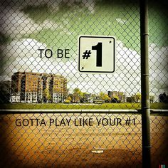 Softball quote- be number one! Softball Quotes, Softball Pictures, Girls Softball, Softball Players, Fastpitch Softball, Sport Quotes, Volleyball, Basketball, Softball Stuff