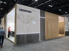 Grespania's full product range at Coverings showing the unique features of #Coverlam for #architecture and interior #design.   #coverings17 #grespania #interiordesign #ceramics #tiles