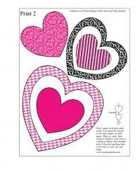 free heart templates to print - Google Search