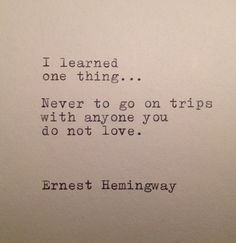 Hemingway Quotes On Love New The Hemingway 3 Typewriter Quote On 5X7 Cardstock  Sunday.kind