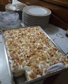 Καταπληκτικό εκμέκ Greek Desserts, Macaroni And Cheese, Sweet Tooth, Food Porn, Sweets, Bread, Vegetables, Cooking, Ethnic Recipes