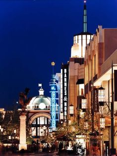 The Grove. Los Angeles, California.