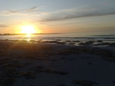 Sunset on Iochdar in the Outer Hebrides of Scotland