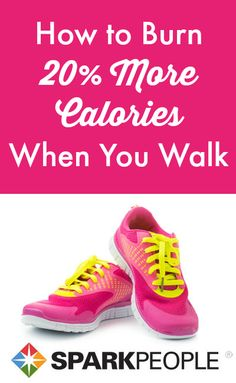 Burn 20% More Calories with This Walking Technique. Add a little umph to your walk--buring up to 20% more calories with these tips.  | via @SparkPeople