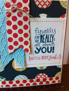 Cute use of 'Really Good Greetings' set.