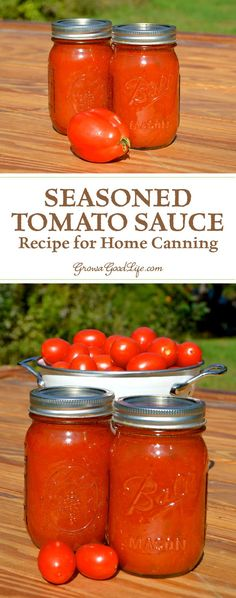 No store bought tomato sauce compares with the flavor of homemade. Capture summer in a jar with this seasoned tomato sauce recipe for home canning.