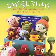 Amigurumi. Alegres Muñecos de Ganchillo, por Ana Paula Rímoli