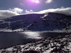 Tonelagee Mountain, Co. Wicklow, Ireland. March 2013.