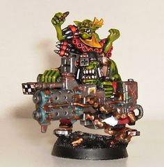 Musings of a Smurf: Ork Lootaz- A Little More Dakka