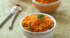 Spaghettis de carottes à la marocaine - Variation autour des carottes râpées : nos 15 meilleures recettes simples et parfumées -