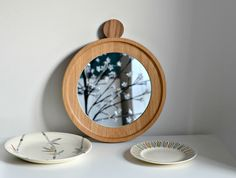 Round Mirror, oak. The thing I love the most about the interiors and home side of my blog, is when I find gorgeous items and interesting companies to share with you. Well I have just the one for you this week, a shin...