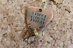 Personalized Fishing Lure W/ FREE Hook by TheLandlockedDogTwo
