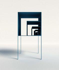 The Fibonacci Shelf by Peng Wang of Utopia Architecture & Design pulls upon…