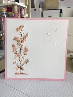 Come join me this coming Tuesday to learn how to use and apply Flower Soft! Flower soft is a great embellishment that adds a element to your creations. January, Presents, Crafts, Manualidades, Crafting, Handmade Crafts, Gift, Wall Art Crafts