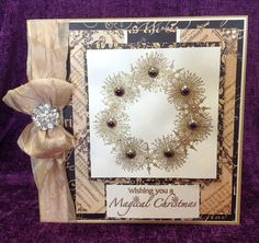 Made by Chloe Endean   Using  Stamps by Chloe Starburst Wreath Stamps by Chloe Magical Christmas Graphic 45 Paper