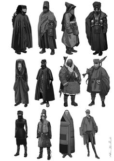 Adam Brockbank, concept and storyboard artist presents a selection of 20 Awesome Concept Art he's made for Rogue One, a Star Wars Story. Alien Concept Art, Star Wars Concept Art, Mise En Page Portfolio Mode, Character Concept, Character Art, Character Costumes, Cyberpunk Character, Star Wars Rpg, Star Wars Costumes
