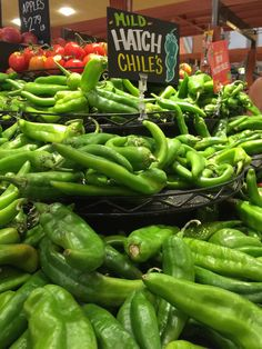 Hatch Chiles are only in season for a short time!  Get them while they're HOT!