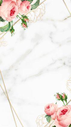 Flowery Wallpaper, Framed Wallpaper, Flower Background Wallpaper, Cute Wallpaper Backgrounds, Pretty Wallpapers, Flower Backgrounds, Background Patterns, Iphone Wallpaper, Cellphone Wallpaper