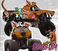 on monster jam facebook: We are excited to announce that the world-famous mystery solving canine, Scooby-Doo, will be touring and competing at Advance Auto Parts Monster Jam in 2013!