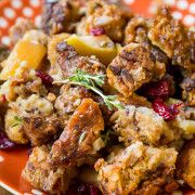 herbed-sausage-cranberry-apple-stuffing-7