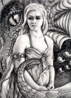 khaleesi coloring pages - Google Search