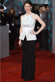 Jennifer Garner at the BAFTA Awards 2013 in Roland Mouret