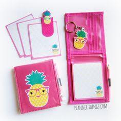 Pineapple Memo Notepad Pack from Kmart Australia at http://plannerthings.com