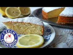 Lemon Cake - Babeta - Czech Cookbook