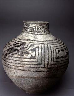 Sosi Black-on-white jar, ca. 1050-1180 CE Turkey Cave, Tsegi Canyon, Navajo Co., AZ University of Arizona Archaeological Project, ca. 1920...