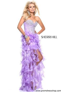 Sherri Hill 1543 Prom Dress GUARANTEED IN STOCK