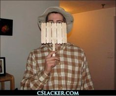 Wilson from Home Improvement - 90s Inspired Halloween costumes