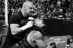 Raw photos for Feb. Roman Reigns and Sheamus square off in a hard-hitting match on Raw. Raw Photo, Sheamus, Triple H, Wwe Photos, Roman Reigns, Roman Empire, Superstar, Champion, Wrestling