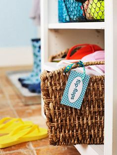 Keep your space organized with customizable DIY labels. Find a solution for every storage problem with these simple, affordable tags and stickers in fun designs.