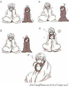 They're cold... They're cute... To aru Majutsu no Index / to aru kagaku no railgun