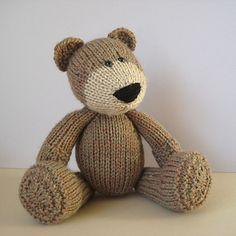 The Three Bears knitting pattern