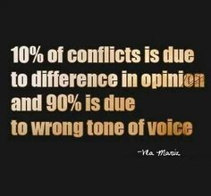 90% tone. Our secret thoughts slip out, even if we carefully choose our words. To Be nice Think nice.