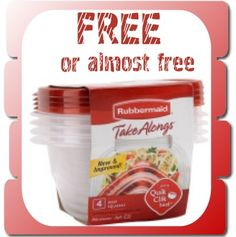 Dollar Genral Rubbermaid: Free or Almost Free