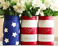 DIY American Flag Decorations