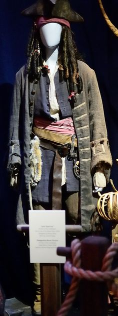 Jack Sparrow Costume from Pirates of the Caribbean: Curse … | Flickr