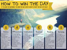 how to win the day // follow these steps and you'll get there